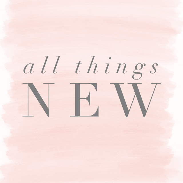 ALL THINGS NEW Midwest Women's Retreat