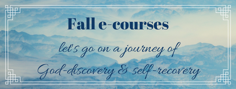 FALL e-COURSE REGISTRATION NOW OPEN!