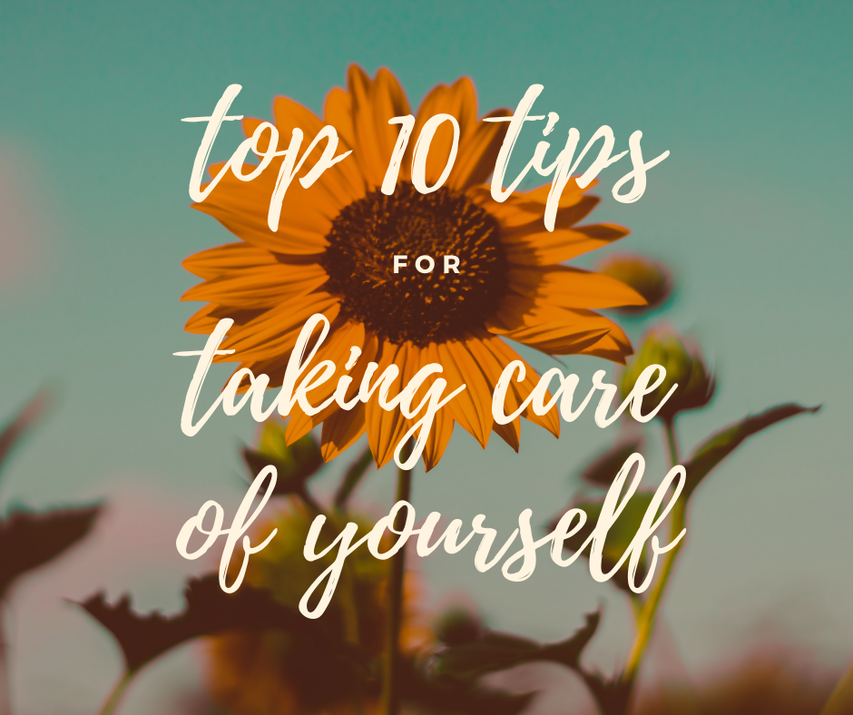 10 FUN & EASY TIPS TO TAKE BETTER CARE OF YOUGod has given you one body, one mind, one heart, one life.You get to be responsible for you.Here are my TOP TEN TIPS for taking care of the life you've been given.